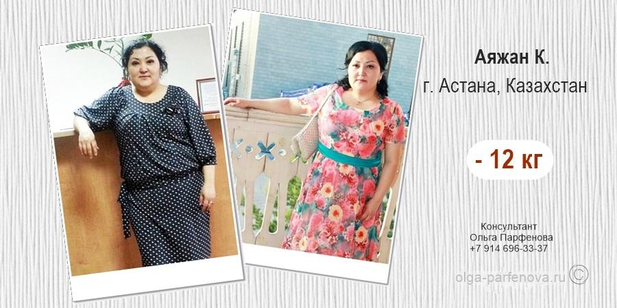 Истории похудения и отзывы в Астане — супер результат!
