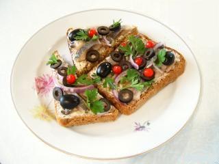 рецепт бутерброд с рыбой