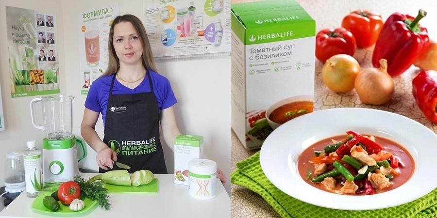 Курица с овощами в томатном соусе