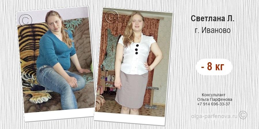 История похудения в Иваново и отзывы о диете