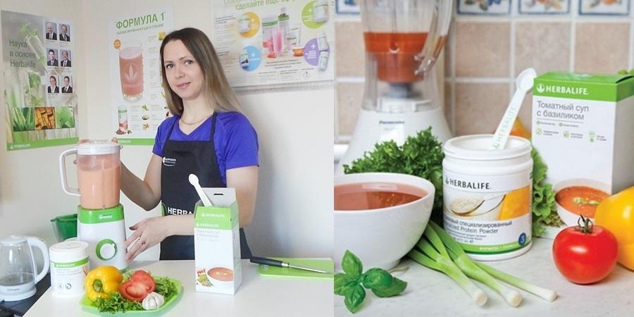 Томатный суп «Итальянский»