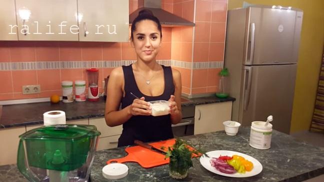 приготовление блюд для похудения
