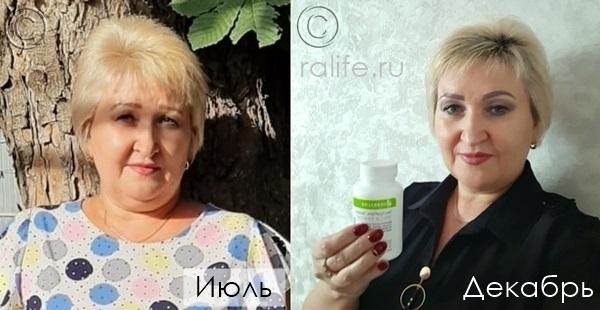 фото до и после похудения Елены Неценко